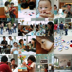 Slickr Collage (My Little Rascal) Tags: collage singapore rafflesplace coffeeclub slickr 220406 singaporeflickrmeetup