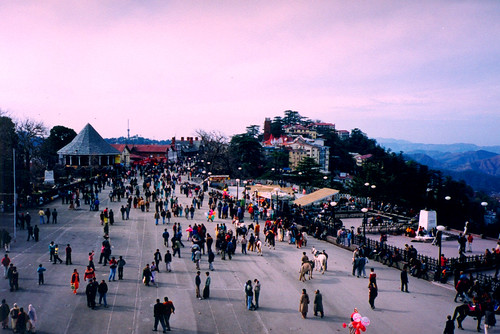 Shimla Mall, source deharris (flickr)