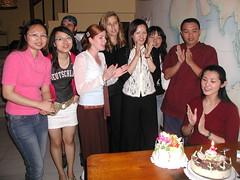 Gia's Birthday Party 10 (Puli Friend) Tags: cafe matthew taiwan melissa raquel betty tina bo cathy gia puli speakez patty711 giasbirthday2006