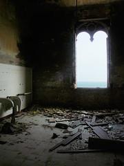 La finestra sul mare (Aelle) Tags: old sea italy abandoned window mare decay room rimini finestra colonia summercamp vecchio stanza rovina abbandonata