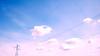 Higher, today (pierofix) Tags: pink blue sky clouds nuvole blu rosa cielo 169 udine cavi traliccio