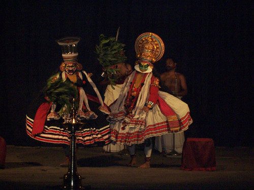 trivandrum-kathakali performance