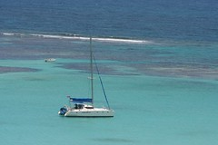 on the right side (antiguan) Tags: ocean blue green beach water cat boats island islands boat sailing eli antigua catamaran boating barrier caribbean yachts reef bluewaters barrierreef