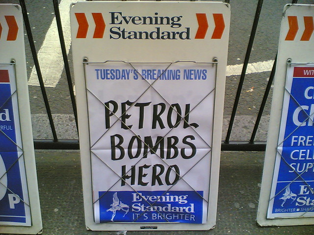 Petrol Bombs Hero