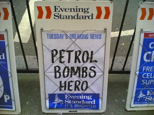 Petrol Bombs Hero