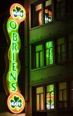 Kate O'Briens (Thomas Hawk) Tags: sanfrancisco california city windows usa reflection window sign bar night restaurant neon unitedstates kate unitedstatesofamerica front signage obriens kateobriens