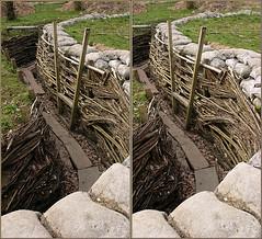 Balliolman_WW1 German Trench9_X (Balliolman) Tags: bayern 3d belgium wwi stereo westernfront ww1 firstworldwar crossed trenches battlefields wiggled germanarmy 19141918 bayerntrenchline