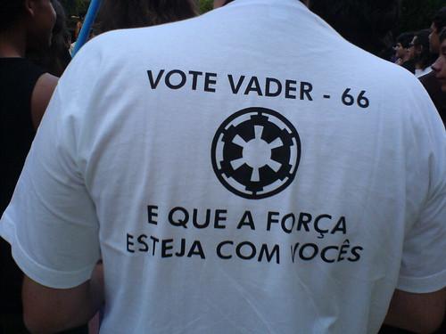 Vote Vader para Imperador!