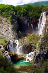 Plitvice Lakes National Park (DKF_L) Tags: wow top20favorites nationalpark topf50 topv1111 may croatia 2006 waterfalls weeklysurvivor top20waterpix topc150 plitvicelakesnationalpark topvaa heavenwater specland specnature mywinners
