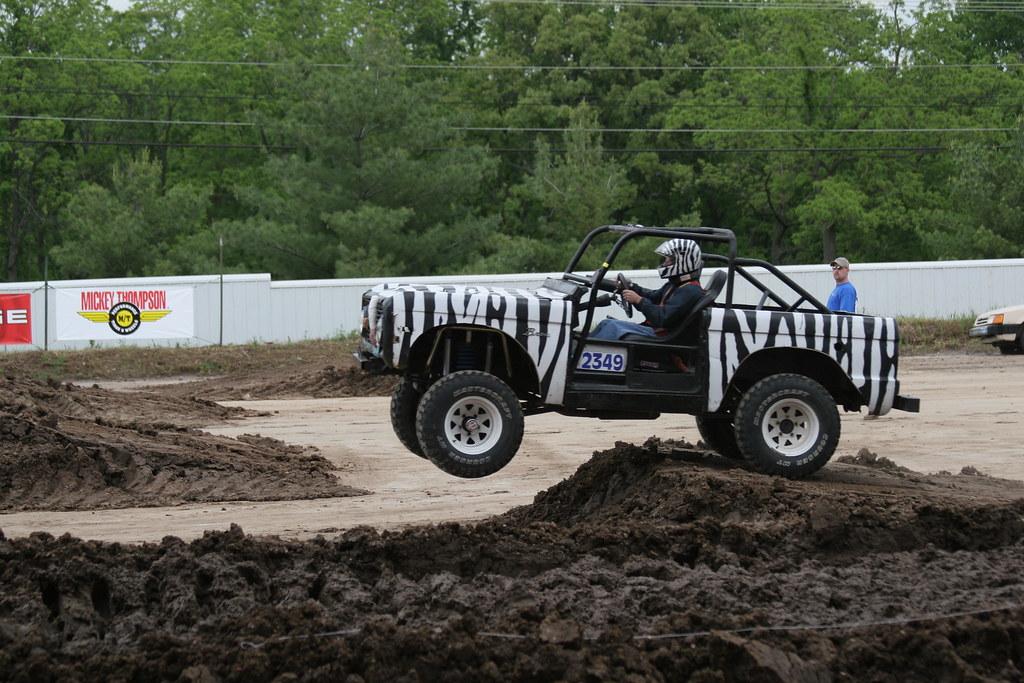 Monster Trucks Zebra Jeep