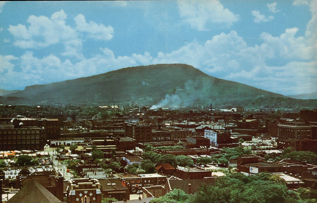 Industrial Chattanooga in the 50s
