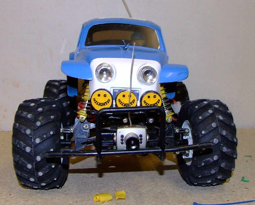 camera car monster electric volkswagen tv model offroad beetle link tamiya rc radiocontrol