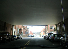(Indiewench) Tags: brick cars underpass vanishingpoint valhalla smokin fa durhamnc tobaccofactory industrialarchitecture ruclaustrophobic purgesurvivor ppool