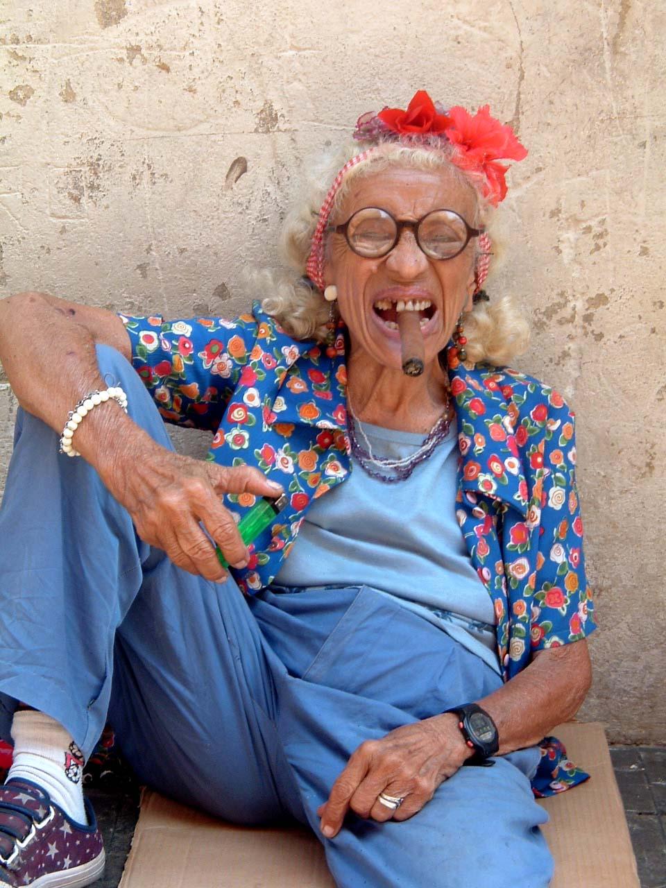 Подборка кончин на бабушек