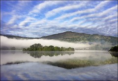 reflections of grasmere (adrians_art) Tags: light england sky cloud mist mountains water misty fog tag3 taggedout geotagged dawn tag2 tag1 500v20f searchthebest grasmere lakes apex relections lanscapes helluva geotags 1000v40f specnature tstlwinner