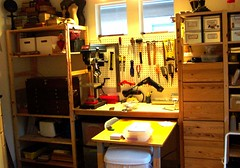 New Studio: Workbench Progress (Terry.Tyson) Tags: art studio 2006 workbench t2