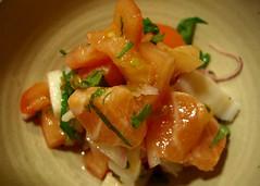 Omaha - Sushi Japan - Mindy's Lomi (brady frequent traveler and eater) Tags: food nebraska salmon omaha japanesefood ceviche lomi sushijapan