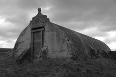 Nineteenth-Century Granary Near Cullen, Coast ...