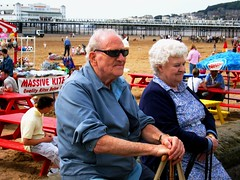 These old people were having a nice afternoon too - by Laura Mary