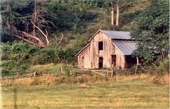 Barnobviously! ( D L Ennis) Tags: road blue mountains barn virginia back ridge farms