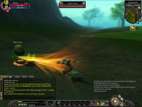 SilkRoad Online - Super Spear Dash