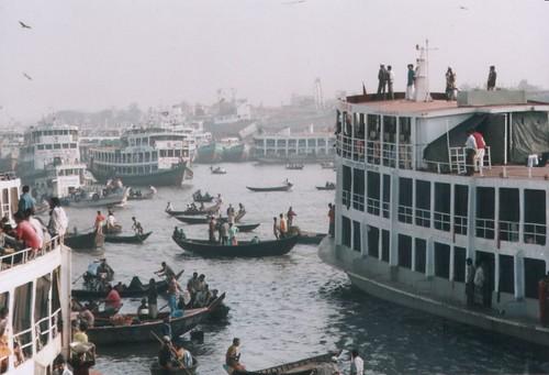 Dhaka steamers (Bangladesh)
