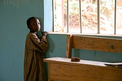 The sun is shining outside (janchan) Tags: africa school portrait people kids children nigeria reportage fulani hausa whitetaraproductions