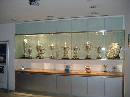 The FA Trophy Cabinet Soho Square