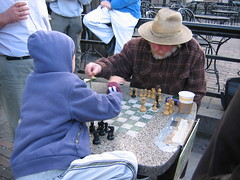 Chess Lesson por Bluepeony