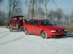 Kombi45 (mompl) Tags: classic car italian fiat alfa romeo 500 kombi fiat500 156 cinquecento giardiniera