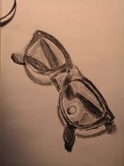 sunglasses drawing rayban