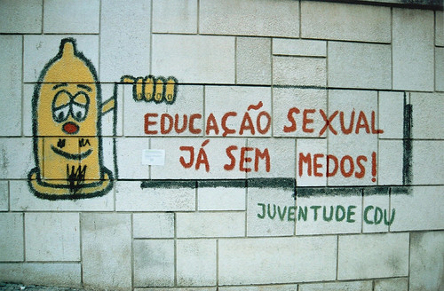sex education graffiti