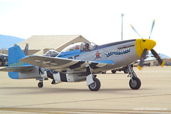 "North American P-51 Mustang ""Six Shooter"" (Ken's Aviation) Tags: 2006 mustang p51 northamerican sixshooter heritageflight n2580 6722580"