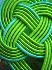 Green Lines (mtyto) Tags: blue color colour macro green canon knot top20macro ixy 4aces top20system canonixydigitall2 canonpowershotsd20 top20color mtyto canondigitalixusi5 macrophotosnolimits