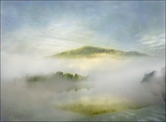mists over grasmere (adrians_art) Tags: morning england sky mountains water misty clouds landscape geotagged bravo grasmere lakes foggy geotags magicdonkey topofthefog aplusphoto