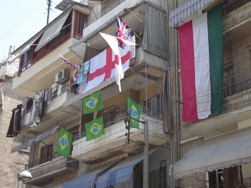 football flags syria fans aleppo mondial ourtrips hovic