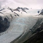 Ultra slow motion -- icefall to frozen waves