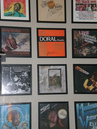 My Autographed LP Collection
