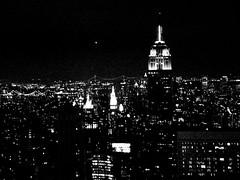 Black skyline - NY (sgrazied) Tags: nyc sky bw ny black building skyline night buildings dark lights view noiretblanc manhattan horizon iso empire rockfeller interphoto mcb1106 mcb1420 dp1009