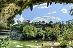 The Grotto (Stuck in Customs) Tags: world travel girls light summer usa green art pool beautiful clouds america swimming swim wow austin landscape photography photo waterfall nikon colorful pretty texas dynamic d70 nikond70 gorgeous hamilton d2x dream fresh divine professional international photograph stunning grotto americana cave top100 portfolio charming foreign fabulous hillcountry technique hdr tutorial trey swimminghole hamiltonpool interestingness9 artisitic bestshot flickrhits engaging portfolios photomatix ratcliff i500 nikonstunninggallery d2xs hdrtutorial cloudstutorial highdynamicrangetutorial stuckincustoms imagekind thatotherpaper treyratcliff focuspocus stuckincustomsgooglescreensaver portfoliodotcom portfoliosdotcom bvt1