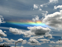 Circumhorizon Arc (Carplips) Tags: sky colors rainbow spokane skies spectrum cumulus cirrus atmosphericoptics circumhorizonarc stratocumulus