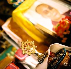 The Dalai Lama close to Ulan Ude