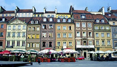 In Warsaw's old town