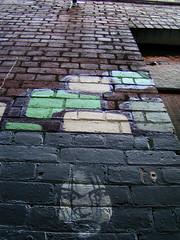 Croft Alley (littlegirllost) Tags: street streetart stencils color art graffiti stencil alley chinatown graf australia melbourne croft lane laneway croftalley alleys lanes 11062006 paynesplace