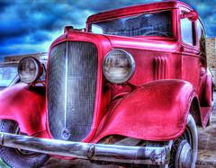 vintage deli truck (Kris Kros) Tags: california ca old red usa classic public car cali photoshop truck vintage photography la us losangeles high cool nikon pix dynamic cs2 ps socal kris deli range hdr jjj kkg interestingness12 photomatix pscs2 kros kriskros 5xp delitruck kk2k top20red kkgallery