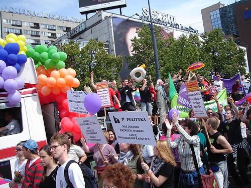 Parada gay em Varsovia