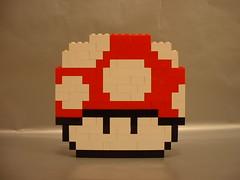 LEGO Super Mario Bros 3 mushroom (benjibot) Tags: lego mario nes