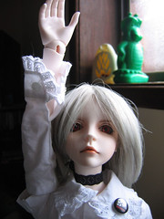 """Oi, can we stop taking pics now?"" (endorwitch) Tags: dolls swift dreamofdoll bjds balljointeddolls lahoo asianballjointeddolls koreandolls dotlahoo"