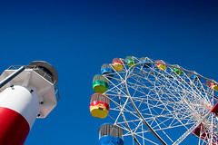 Spinning Wheel (freshlysliced) Tags: wheel wide ferris amusementpark lunapark rides 1022mm