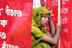 Garments workers protest -- uncertain future? (drishtipat2) Tags: bangladesh garments